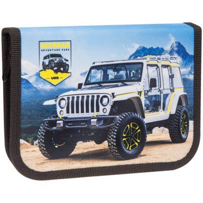 """Пенал 1 отделение, 190*130 ArtSpace """"Jeep"""", дополнительная откидная секция, ткань"""