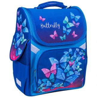 """Ранец ArtSpace Junior """"Butterfly"""" 37*28*21см, 1 отделение, 3 кармана, анатомическая спинка"""