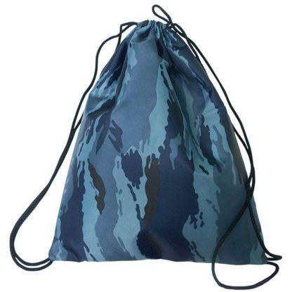 Мешок для обуви 1 отделение ArtSpace, 320*420мм, камуфляж синий