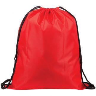 Мешок для обуви 1 отделение ArtSpace, увеличенный объем, 410*490мм, красный