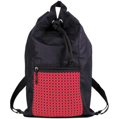 """Мешок для обуви 1 отделение Berlingo """"Style"""", 370*480мм, розовый, карман на молнии"""