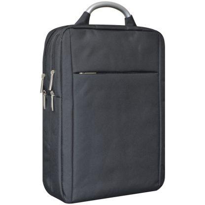 Рюкзак ArtSpace Casual Pro, 41*29,5*11см, черный, 2отд., 6 карм., отд. для ноутб., уплотн. спинка