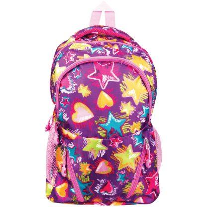 Рюкзак ArtSpace Pattern, 45*30*13cм, 1 отделение, 5 карманов, уплотненная спинка