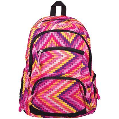 Рюкзак ArtSpace Pattern, 45*31*15cм, 1 отделение, 5 карманов, уплотненная спинка