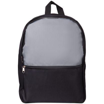 Рюкзак ArtSpace Simple Plus, 37,5*29*12см, 1 отделение, 1 карман, уплотненная спинка, серый