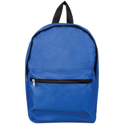 Рюкзак ArtSpace Simple Street, 37*26*11см, 1 отделение, 1 карман, уплотненная спинка, синий