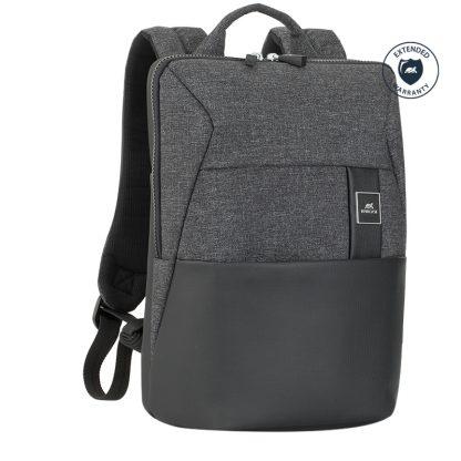 Рюкзак для ноутбука 13,3″ RivaCase 8825, полиуретан, полиэстер, черный, 350*250*130мм