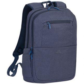 "Рюкзак для ноутбука 15,6″ RivaCase ""Suzuka ""7760, полиэстер, синий, 430*290*145мм"