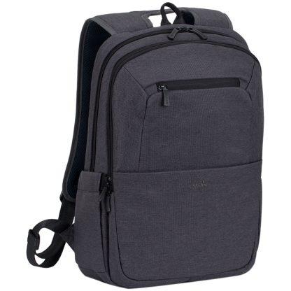 """Рюкзак для ноутбука 15,6″ RivaCase """"Suzuka"""" 7760, полиэстер, черный, 430*290*145мм"""