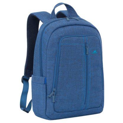 Рюкзак для ноутбука 15,6″ RivaCase 7560, полиэстер, синий, 425*310*115мм