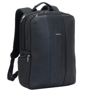 Рюкзак для ноутбука 15,6″ RivaCase 8165, исскуственная кожа, полиэстер, черный, 440*310*120мм
