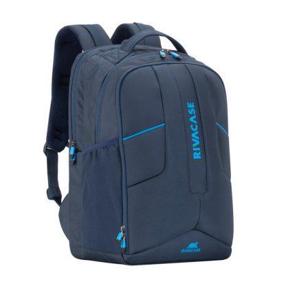 """Рюкзак для ноутбука 17,3″ RivaCase """"Borneo"""" 7861, полиэстер, темно-синий, 470*300*210мм"""