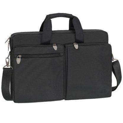 Сумка для ноутбука 17,3″ RivaCase 8550, полиэстер, черный, 440*300*90мм
