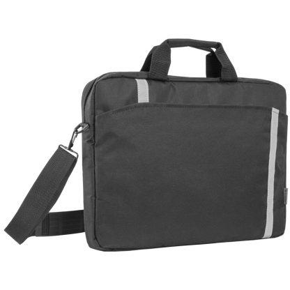 Сумка для ноутбука 15″-16″ Defender Shiny, полиэстер, черный, 400*290*45мм
