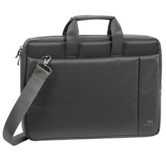 Сумка для ноутбука 15,6″ RivaCase 8231, полиэстер, серый, 385*265*45мм