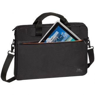 Сумка для ноутбука 15,6″ RivaCase 8033, полиэстер, черный, 370*280*45мм