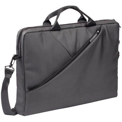 Сумка для ноутбука 15,6″ RivaCase 8730, полиэстер, серый, 410*315*50мм