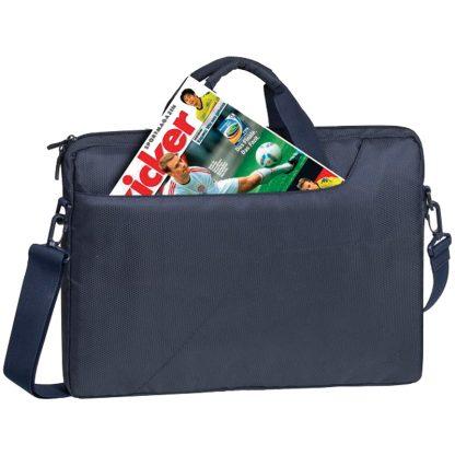 Сумка для ноутбука 15,6″ RivaCase 8035, полиэстер, синий, 410*315*50мм