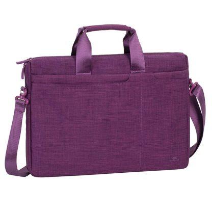 Сумка для ноутбука 15,6″ RivaCase 8335, полиэстер, пурпурный, 410*290*65мм